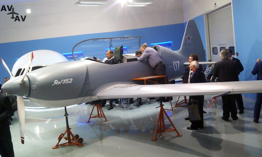 yak 152 - Серийное производство учебных Як-152 готово к старту