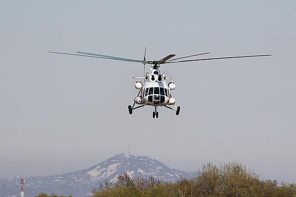 9344 - При аварийной посадке вертолета Ми-8 пострадали 6 человек