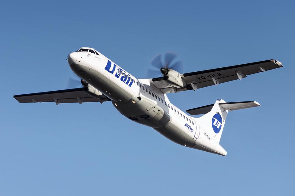 ATR 72 - Авиакомпания Utair расширяет географию перевозок по России