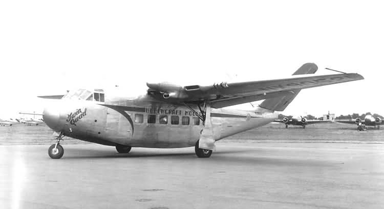 Beech Twin Quad 34 - Знакомьтесь - предшественник деловых самолетов Beechcraft 34 «Twin-Quad»