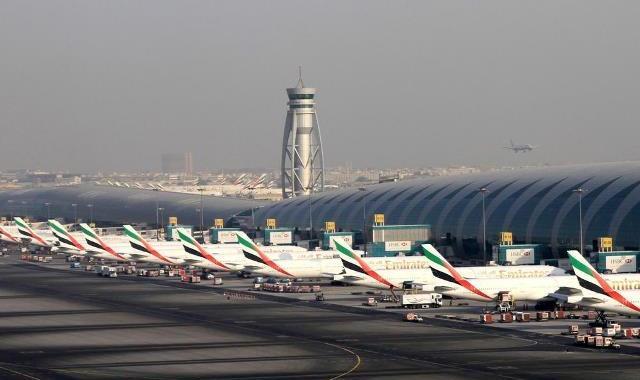 Lotnisko w Dubaju - Аэропорт Дубай вновь побил рекорд по пассажиропотоку