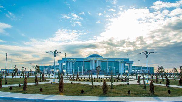 Novyiy stolichnyiy aeroport v Turkmenobate - В Туркмении открылся новый международный аэропорт