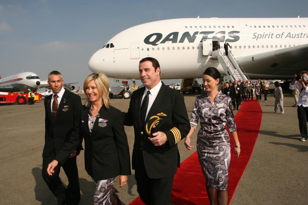 Travolta Qantas 1024x683 - История частного флота Джона Траволта