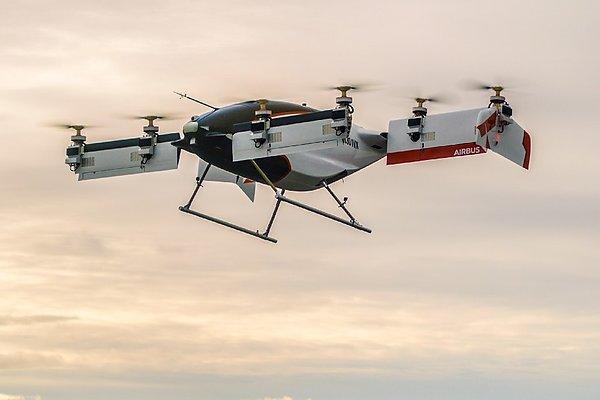 Vahana - Аэротакси от Airbus впервые поднялось в небо