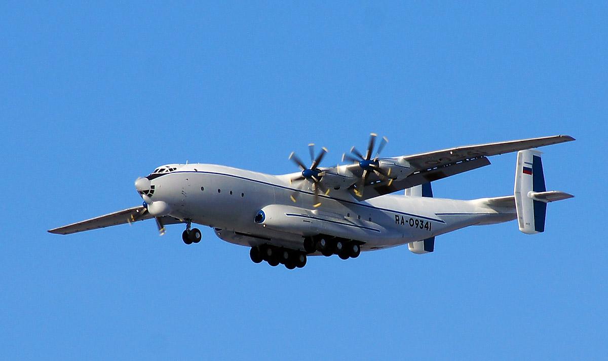an 22 antey - Самолеты Ан-22, Ил-76 и Ан-26 отработали посадку на снег