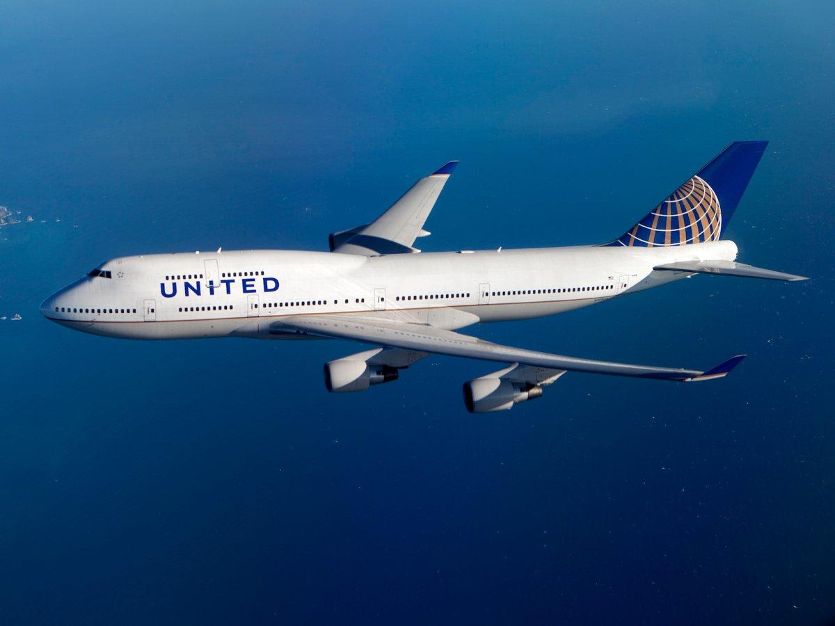 boeing 747 400 united - Список авиакомпаний - последних пользователей легендарного Boeing B747