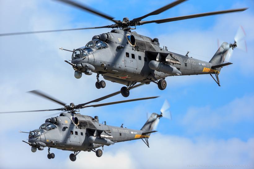 mi 35 - В 2019 году Ми-35 будут ремонтироваться в Чите