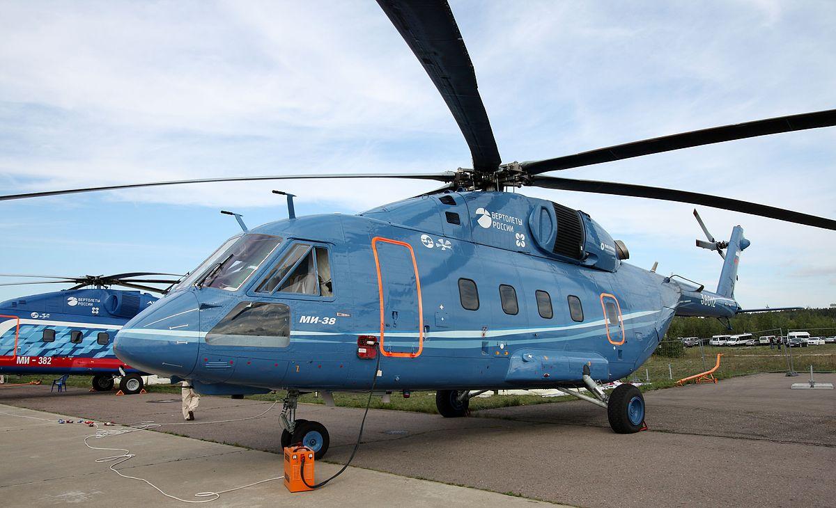 mi 38 - Срок эксплуатации пассажирских вертолетов сократится