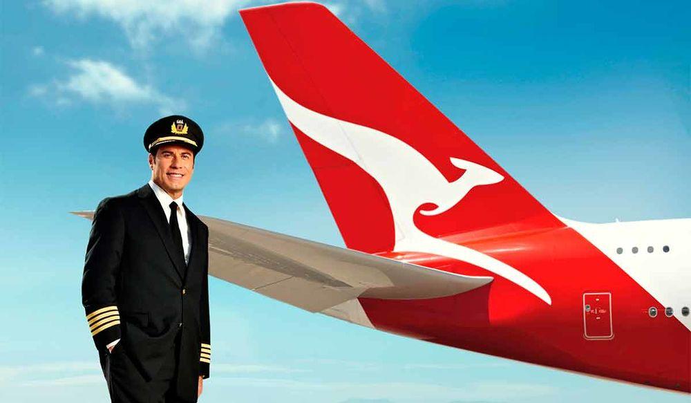 travolta qantas - История частного флота Джона Траволта