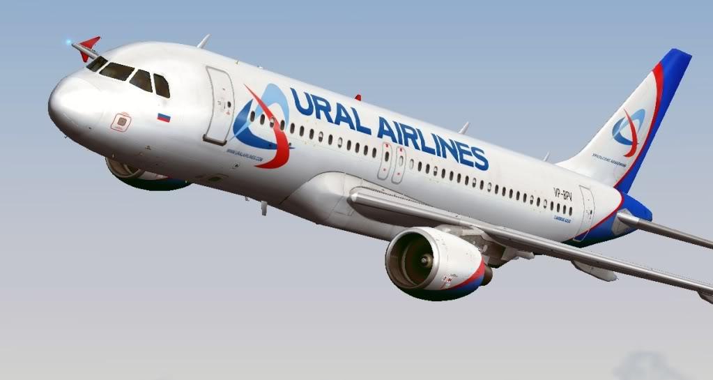 ural avia - Уральские авиалинии расширят авиапарк на 7 самолетов
