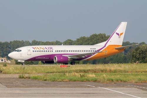 yanair - Новая украинская авиакомпания YanAir расширяет международную сеть сообщений