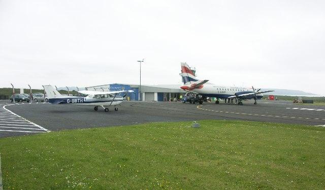 1 16 - Аэропорт Айлей (Glenegedale) коды IATA: ILY ICAO: EGPI город: Айлей (Islay) страна: Великобритания (United Kingdom)
