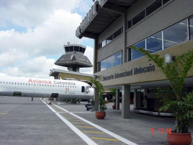 13 13 - Аэропорт Перейра (Matecana) коды IATA: PEI ICAO: SKPE город: Перейра (Pereira) страна: Колумбия (Colombia)