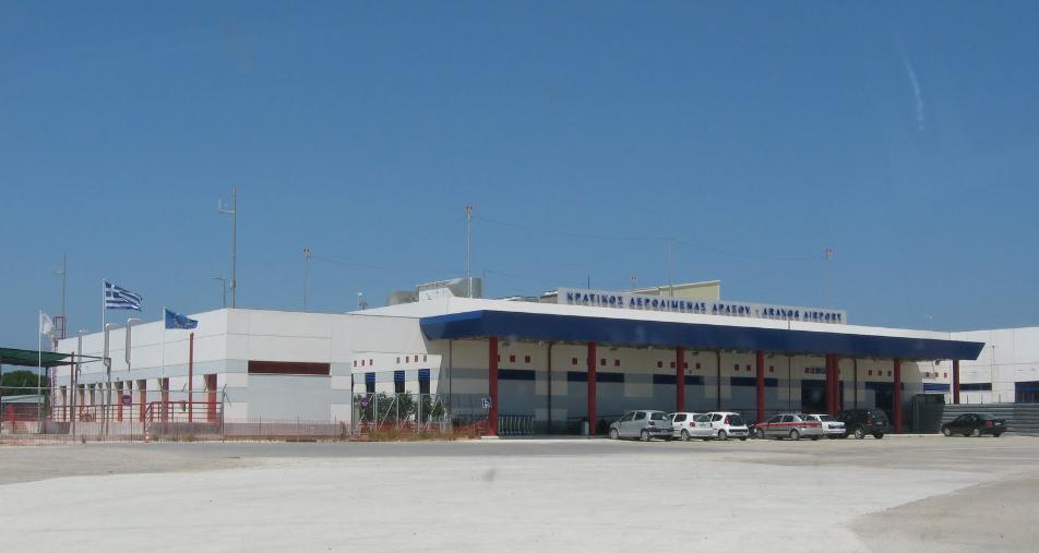 13 - Аэропорт Араксос (Araxos Airport) коды IATA: GPA ICAO: LGRX город: Патрас (Patras) страна: Греция (Greece)