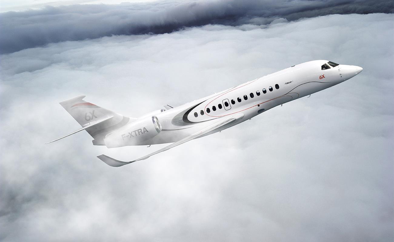 Новый бизнес-джет Dassault Falcon  6X