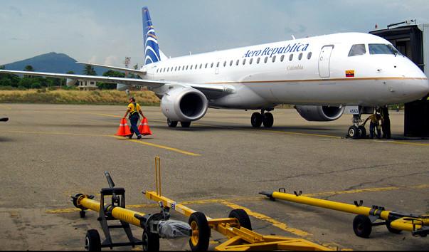 6 13 - Аэропорт Камило Дазо  (Camilo Dazo) коды IATA: CUC ICAO: SKCC город: Кукута (Cucuta) страна: Колумбия (Colombia)
