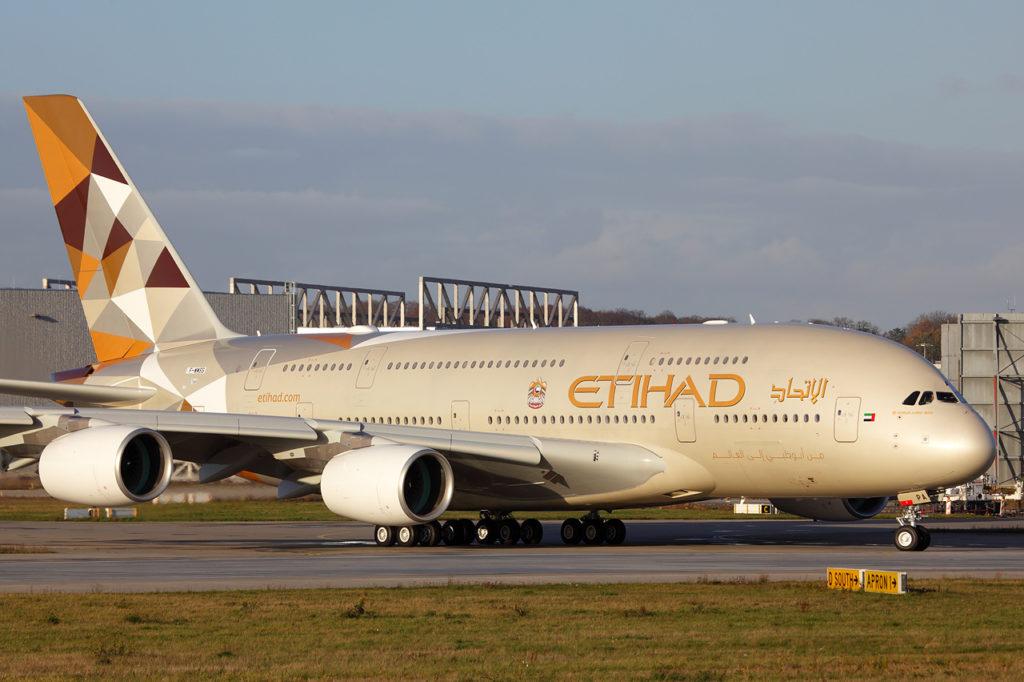 Etihad Airways 1024x682 - Etihad Airways начинает осуществлять полёты в Баку