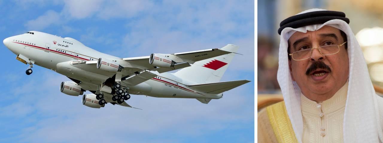Hamad bin Isa Al Khalifa tcm114 40834 - Король Бахрейна: о поистине шикарных перелётах