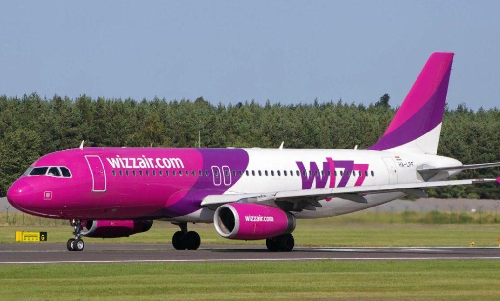 Wizz Air 1024x618 - Авиакомпания Wizz Air будет осуществлять рейсы из Вены в Ниццу