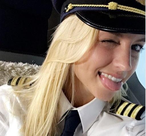 kimberly - Самые красивые женщины-пилоты по версии портала aviav.ru