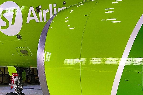 livreja - Самолеты S7 Airlines окрашиваются в Минеральных Водах