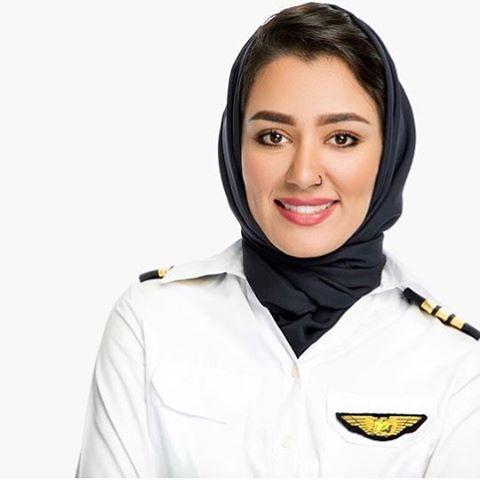 maha al balushi - Самые красивые женщины-пилоты по версии портала aviav.ru