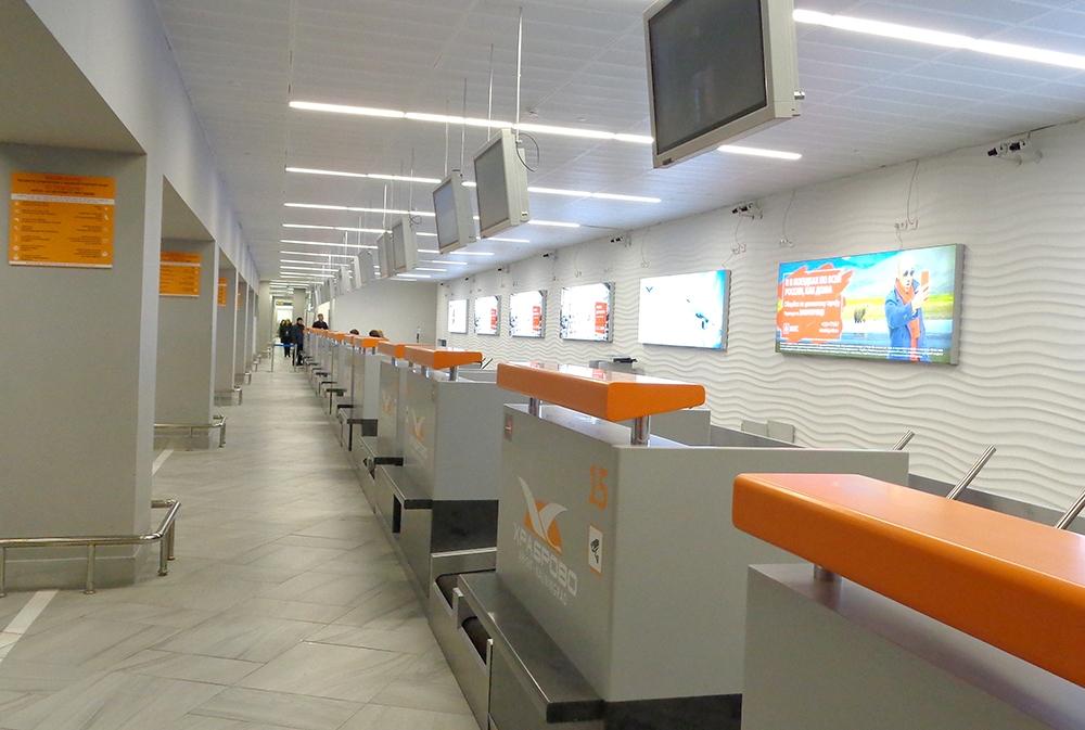 """new reg 4 - В аэропорту """"Храброво"""" открылась новая зона регистрации"""