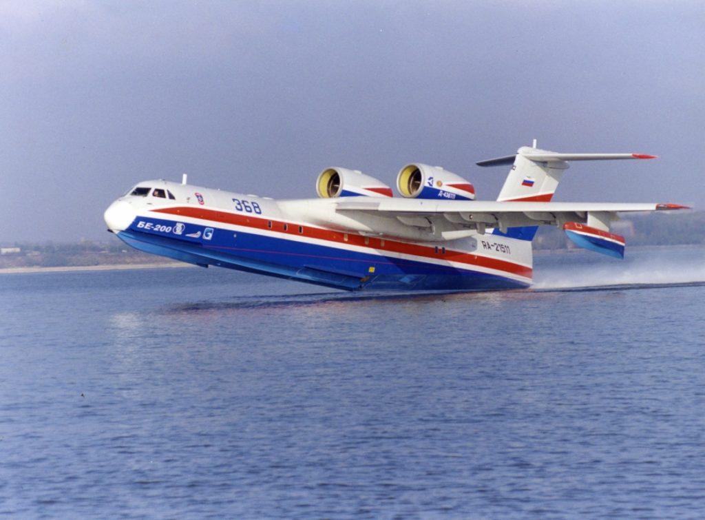 На самолет-амфибию Бе-200 будет установлен двигатель SaM146