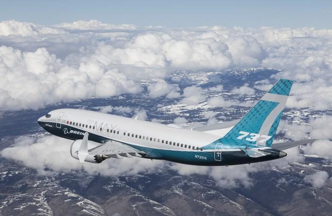 Совершил первый полет самолет Boeing-737MAX 7