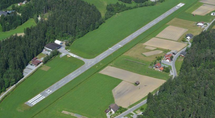 Аэродром Шоштань в Словении для частной авиации