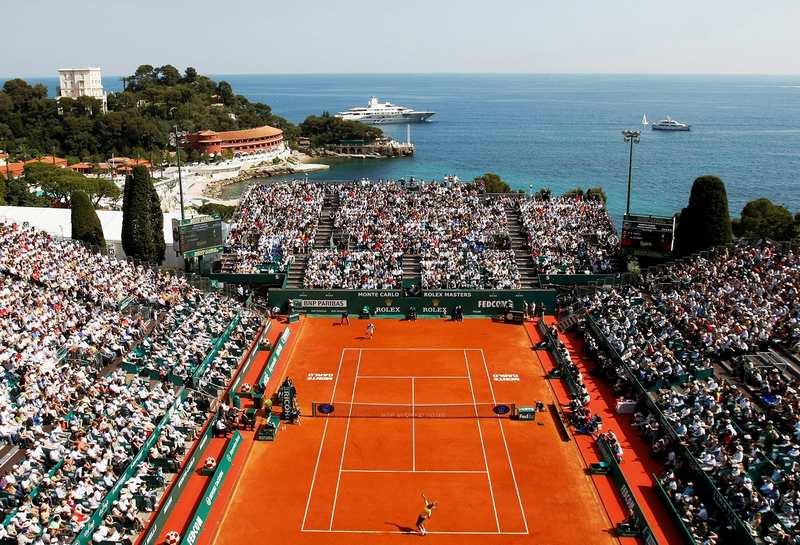 Rolex Monte Carlo Masters - Чартер самолёта на турнир Rolex Monte-Carlo Masters
