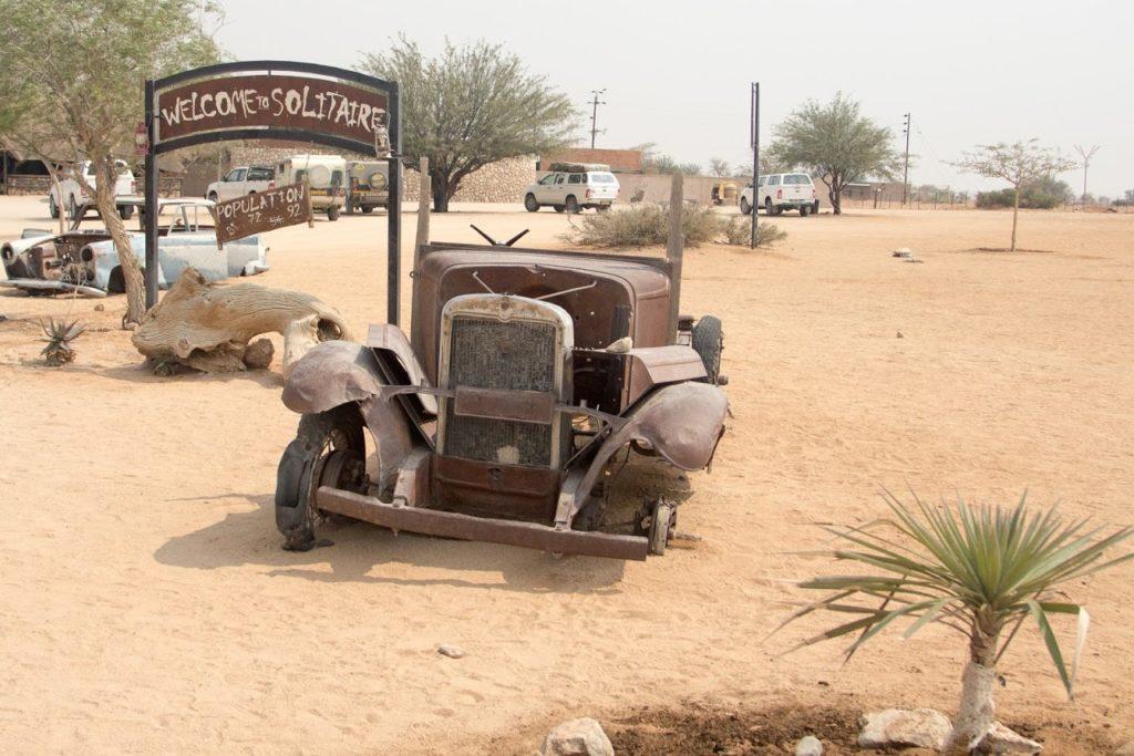 Solitaire old car 1024x683 - Африка вне времени или приглашение на сафари в Намибию