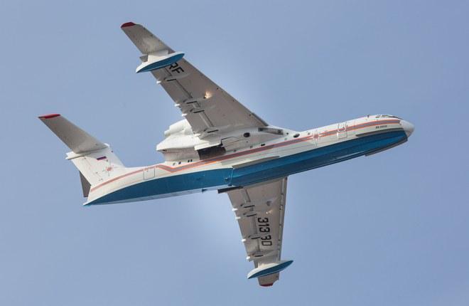 Завершена сборка четвертого самолета Бе-200ЧС для нужд МЧС