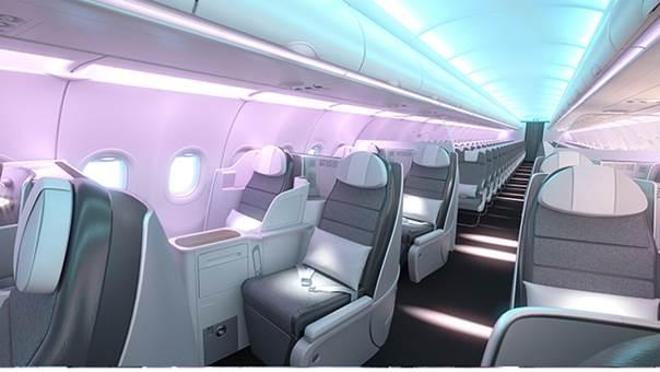 Презентация новых салонов Airspace для самолетов A330neo и A320