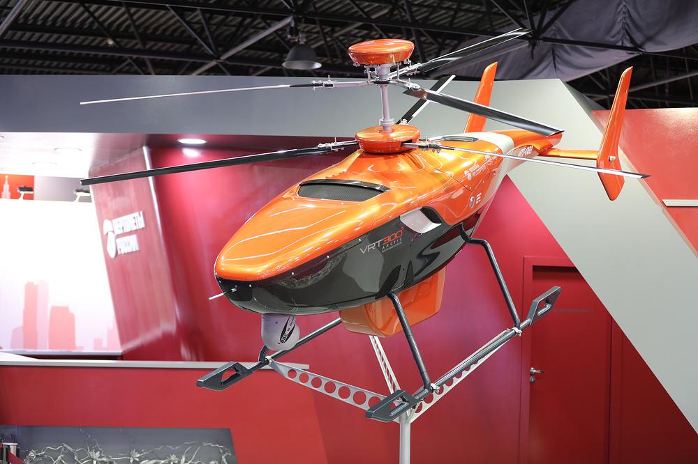 maks20178 - Отечественный беспилотный вертолет VRT300 проходит наземные испытания
