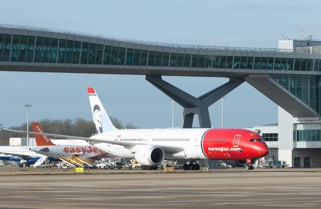norwegian 787 gatwick sw2 9300 norwegian - Убыток Norwegian по результатам 2017-го года превысил $49 миллионов
