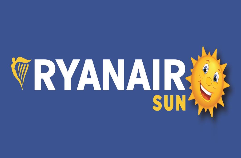 ryanair 01 ryanair sun logo1 1222x800px 1024x670 - Ryanair Sun - восходящая звезда на европейском небе