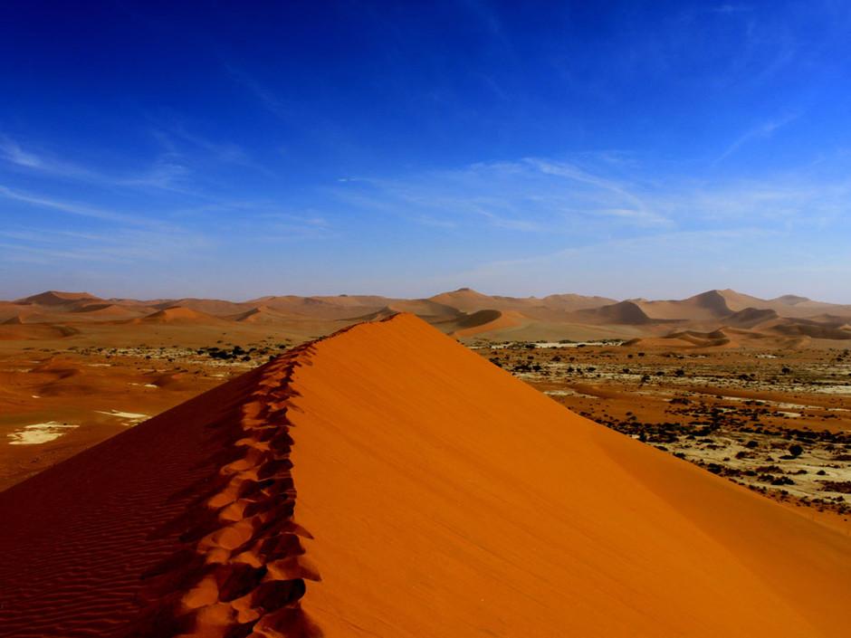sossusvlei duna - Африка вне времени или приглашение на сафари в Намибию