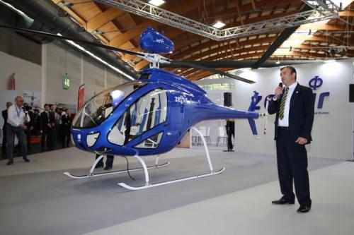 zefhir - AERO Friedrichshafen 2018 -  микровертолет Zefhir