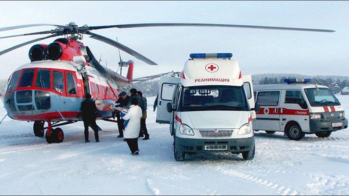 Российские вертолеты и санитарная авиация