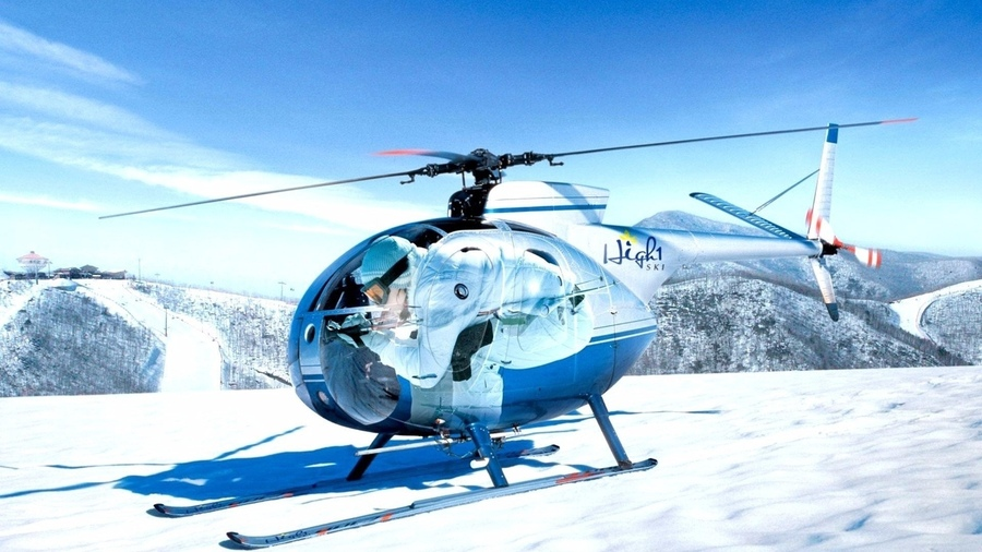 197061 - Горнолыжные курорты Франции: сколько стоят вертолетные рейсы