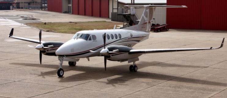 2. King Air 250 - 7 лучших частных самолетов, которыми может управлять один пилот