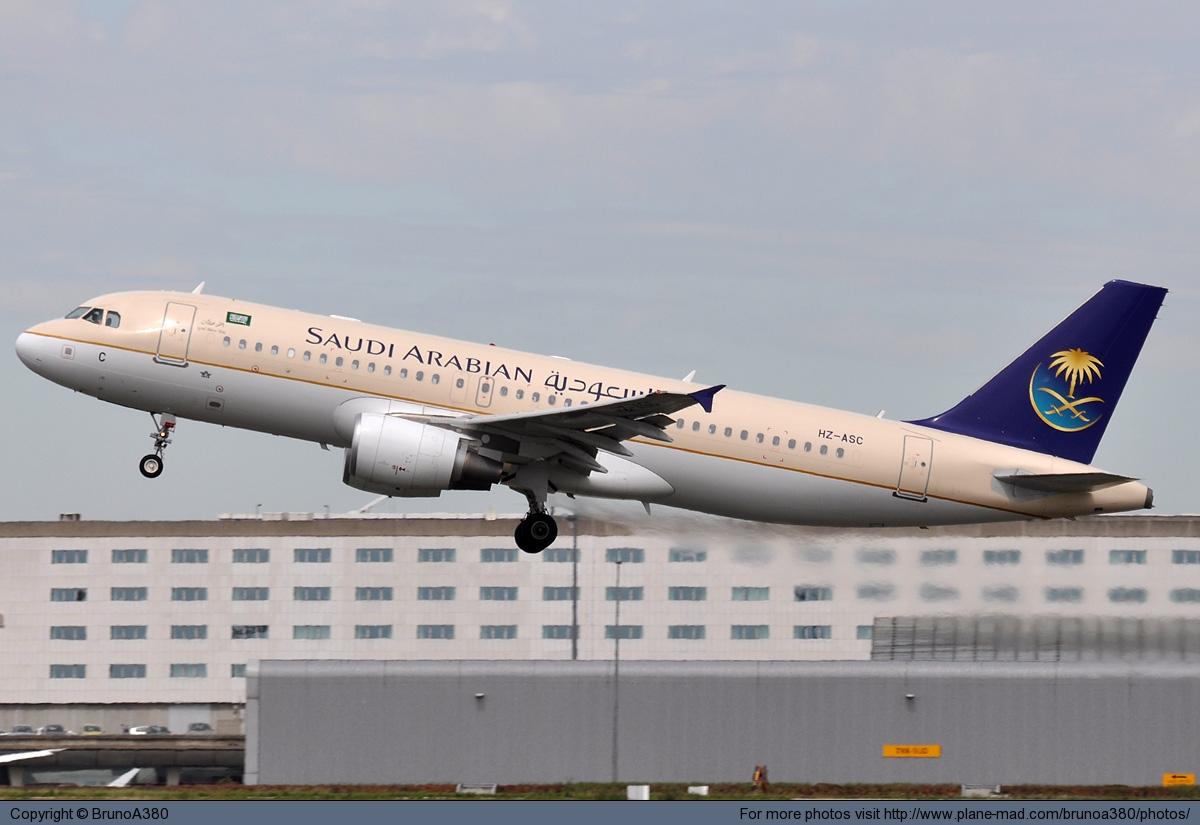 Самолет Saudi Arabian Airlines сел в Саудовской Аравии без шасси