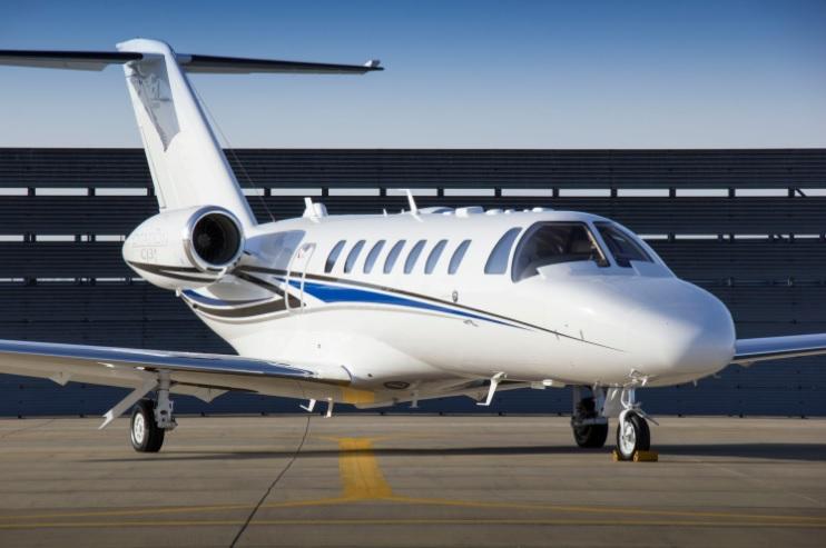 3. Citation CJ3 - 7 лучших частных самолетов, которыми может управлять один пилот