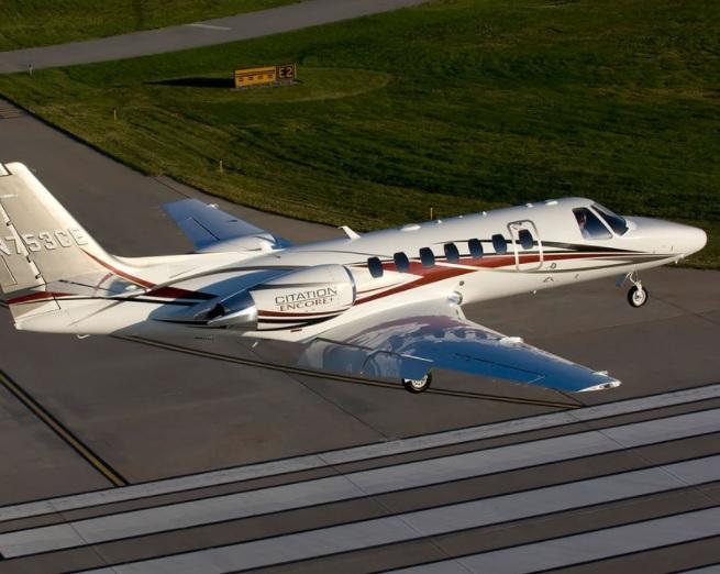 5. Citation Encore - 7 лучших частных самолетов, которыми может управлять один пилот
