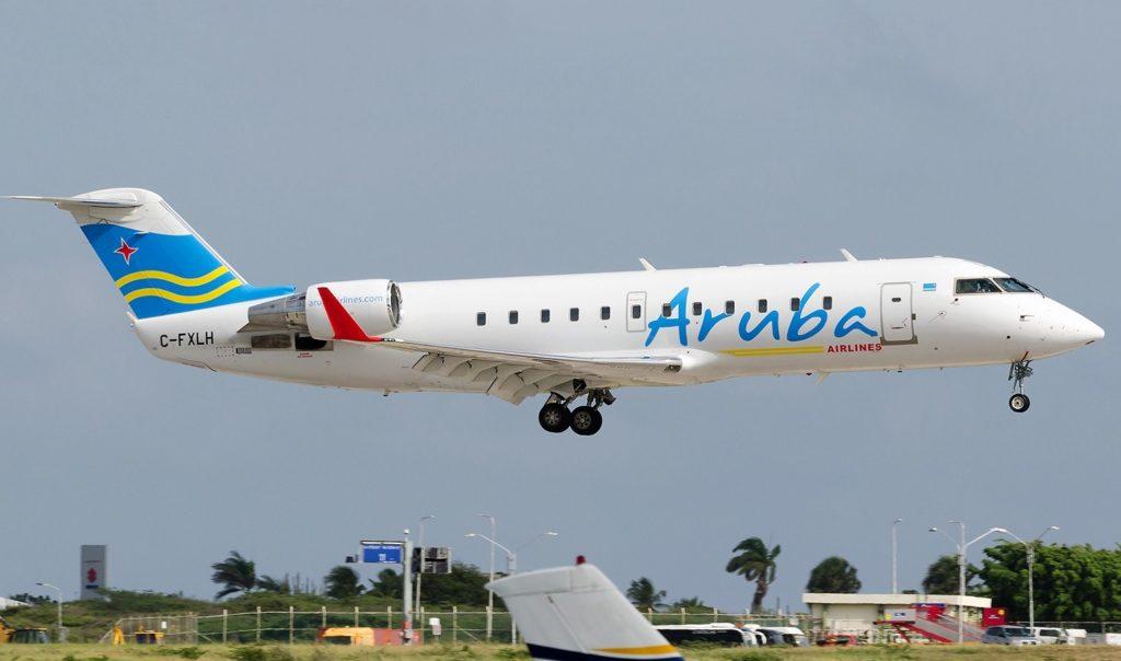 Aruba Airlines 1024x604 - Aruba Airlines  запустила самый короткий международный рейс