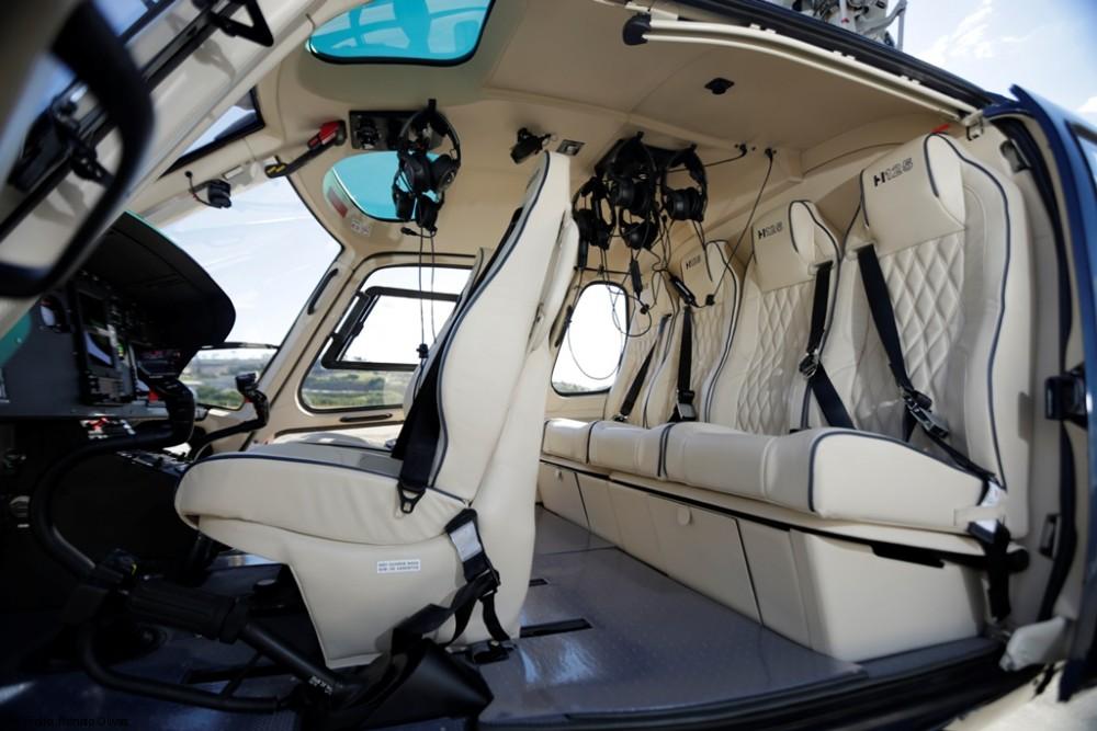 Credito da foto  Renato Olivas - 100-ый бразильский вертолет H125 передан клиенту