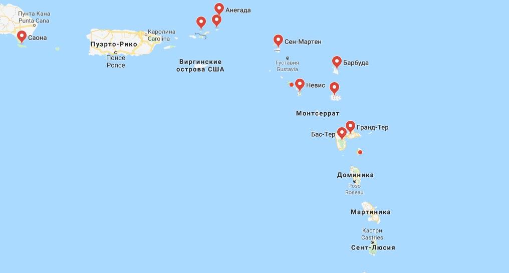 Карибские острова: 10 аэропортов для путешествий частным самолетом