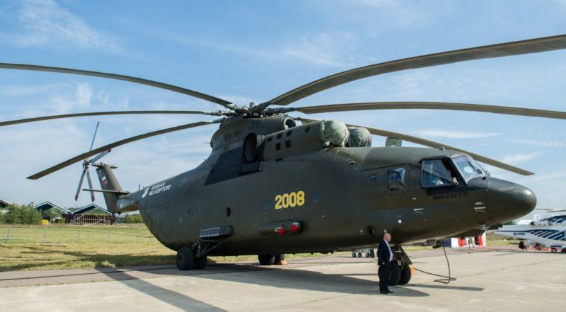 Контракт с Минобороны на поставку Ми-26Т2В будет подписан в 2019 году