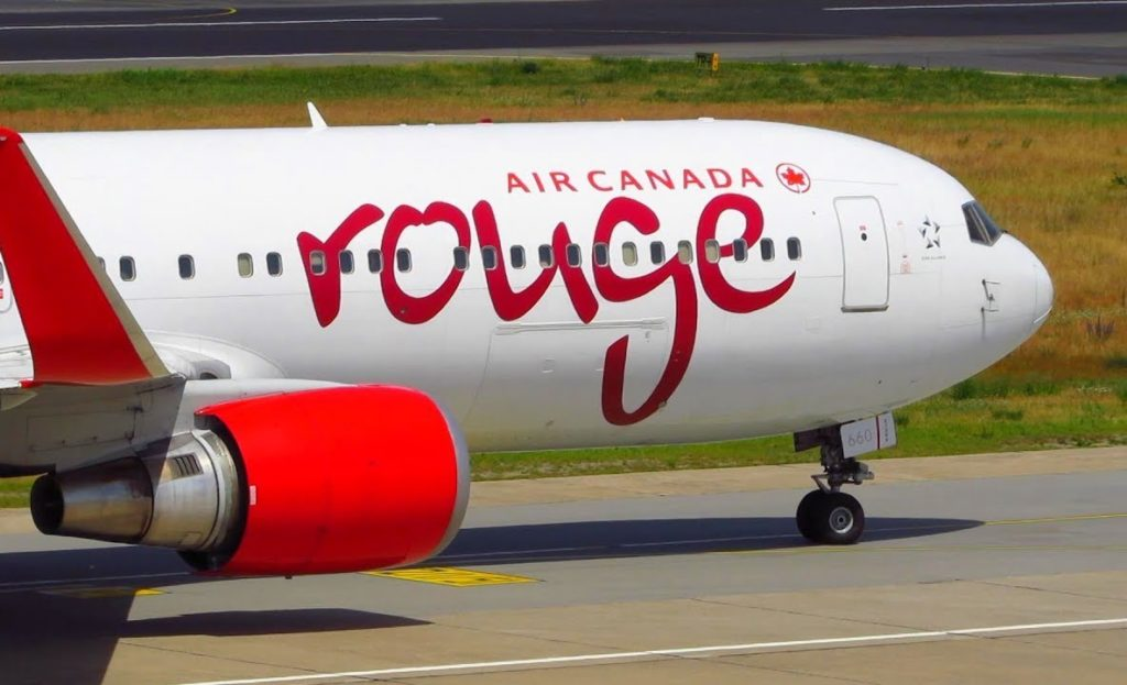 Air Canada Rouge 1024x623 - Air Canada Rouge начала полёты между Монреалем и Лиссабоном